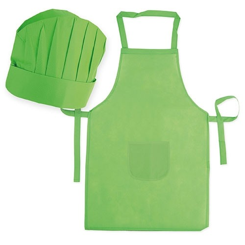 SET DELANTA + GORRO CHEF