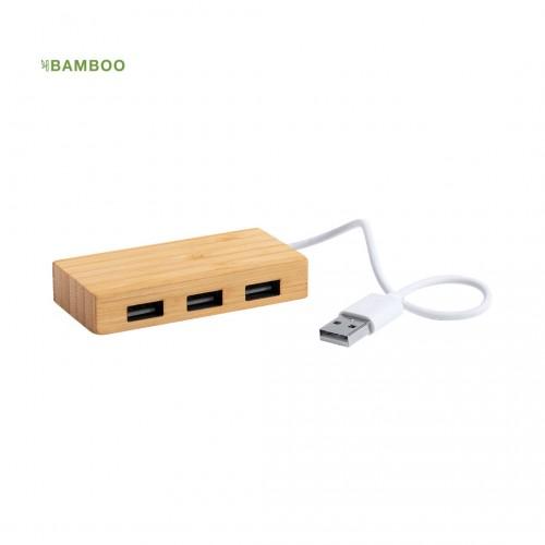 PUERTO USB BAMBU